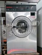 Speed Queen Front Load Washer Coin Op 20lb, 220v 3ph, S/n Scn020gc2ou1001 [ref]