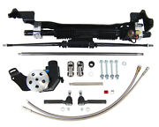Unisteer 1960-1964 Ford Full Size Car Power Rack And Pinion Kit 8011410 Fast Ship