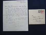Original Autograph Letter Signed From Carl Th. Dreyer To Elliott Stein Re Medea