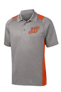 Columbia 300 Menand039s Action Performance Polo Bowling Shirt Dri-fit Orange