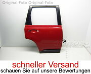 Door Rear Right For Nissan X-trail T31 03.07- Red Axbg