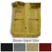 1990-1995 Chevrolet Astro Ext Without Air Ducts Cutpile Replacement Carpet Kit