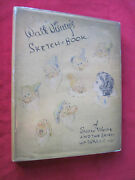Walt Disney Sketchbook Of Snow White And The Seven Dwarfs - 1938 First Edition