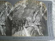 1909 In The Heart Of Box Canyon Colorado Stereoview