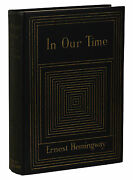 In Our Time Ernest Hemingway First American Edition 1st Printing 1925