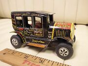 1950s Marx Line-mar Old Jalopy Tin Lithographed Friction Car