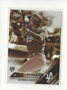 2016 Topps Chrome Sepia Refractor 131 Trayce Thompson Rc Rookie Dodgers