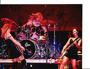 The Bangles Group Signed Rocking Out 8x10