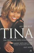 Tina Turner All The Best-definitive Hits Collection Australia Promo Poster