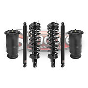 2002-2009 Gmc Envoy Air Suspension Rear Shocks With Springs And Front Struts