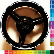 Motorcycle Custom Rim Stripe Wheel Decal Tape Ktm Aprilia Ducati Bmw Hyosung