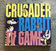 Crusader Rabbit Tv Game Tryne 111 C. 1956 Rags The Tiger