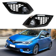 Complete Clear Lens Fog Lights W/bezel Cover Wiring For 2016-18 Scion/toyota Im