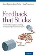 Feedback That Sticks The Art Of Effectively Communicating Neuropsychological As