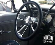 14 Billet Muscle Chevy Gm 69-94 Steering Wheel Set W/ Chevy Engraved Horn
