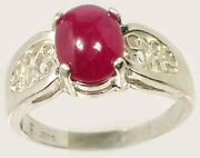 Red Ruby Ring 2ct+ Antique 18thc Ancient Etruscan Roman God Of War Mars Ares Gem
