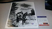 Gene Autry Angels Country Singer Autographed Hand Signed Psa Dna Coa 8x10 Photo