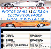 Lot Of 12 Rare Collector Muscle Machines Import Tuner Hot Car 164 Wheels Ac79