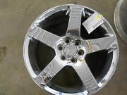 2006 Dodge Viper Wheel 18x10 Front 5 Spoke Has Aftermarket Chome Plating.