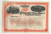 18-- Tennessee Coal Iron And Railroad Company Stock Certificate