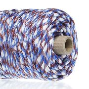 Golberg 750 Type Paracord 200 Ft Tube, 500 And 1000 Ft Spools - Multiple Colors