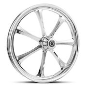 Dna Crystal Chrome Forged Billet 23 X 3.75 Front Wheel Harley 2000+ Touring
