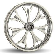 Dna Beast Chrome Forged Billet Wheel 18 X 10.5 Rear Harley 280-300 Tire