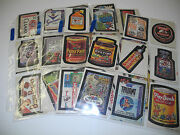 Topps Wacky Packages 1974 Series 6 Near Complete Set 32/33
