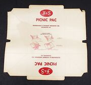 Shamokin Pa Htf Fands Beer Fuhrmann And Schmidt Beer Picnic Pac Never Used