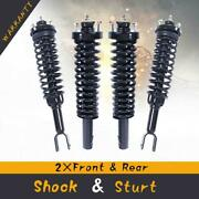 4 Quick Complete Shocks And Coil Spring Assemblies For 1996-2000 Honda Civic