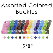 Paracord Planet 5/8 Side Release Buckles - Multiple Colors And Pack Sizes