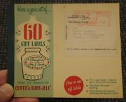 1975 Kankakee Illinois Certo And Sure-jell Label Booklet - Meter Paid 3rd Class