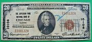 1929 20. T1 Jefferson Park National Bank Of Chicago Illinois Il Charter 10108