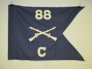 Flag917 Ww2 Us Army Airborne Guide On 88 Parachute Infantry Regiment C Co Ir43b