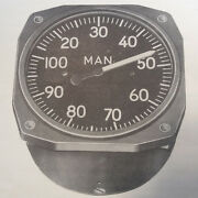 Manifold Pressure Gages An5770 Series And R88-g Ops, Service, Parts And Ohc Manual
