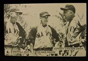 Johnny Vander Meer Baseball Ww Ii Photo Signature Psa/dna.sold. Not Available