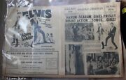 Elvis Presley Theater Movie Inserts Promotional Posters 1960s