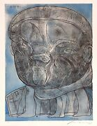 Jose Luis Cuevas Coloso 1988 | Signed Lithograph | Mexican | Others Available