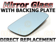 Passenger Mirror Glass And Base Plate Renault Traffic 01