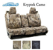 Coverking Custom Seat Covers Ballistic With Kryptek Camo - Choose Color And Rows