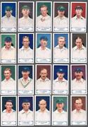 1926 J.a. Pattreiouex Cricketers Series Tobacco Cards Near Set Of 65/75
