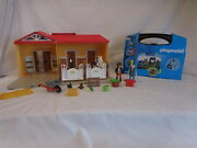 Playmobil 5657 Dragon Knights Carry Case New + 5348 Country Pony Farm Take Along
