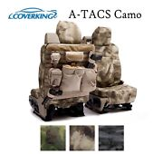 Coverking Custom Tactical Seat Covers Ballistic A-tacs Camo - Pick Color And Row