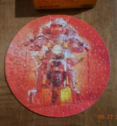 Springbok Miss Piggy Comin' Atcha Mini Puzzle Motorcycle Heart 60 Pc Muppets