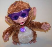 Furreal Friends Baby Cuddles My Giggly Monkey Pet Animated Plush - Interactive