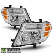 Chrome For 2008 2009 2010 2011 2012 Pathfinder Headlights Headlamps Left+right
