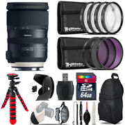 Tamron 24-70mm Vc G2 For Canon + Macro Filter Kit And More - 64gb Accessory Kit