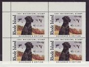 Ri3gc Rhode Island State Duck Stamp Governor Ed. Contingency Plate Ri3gcp0 Dss