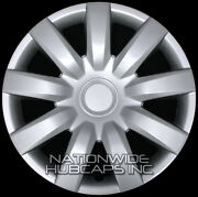 15 Set Of 4 Wheel Covers Full Rim Snap On Hub Caps Fit R15 Tire And Steel Wheels