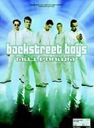 Millennium Piano Vocal Guitar By Boys, Backstreet Paperback Book The Fast Free